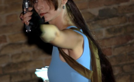 Cosplay dal videogioco Tomb Raider: Lara Croft di Annamaria Quaresima