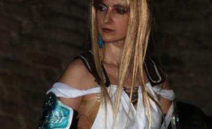 Cosplay dal videogioco Soul Calibur: Sophitia di Annamria Quaresima