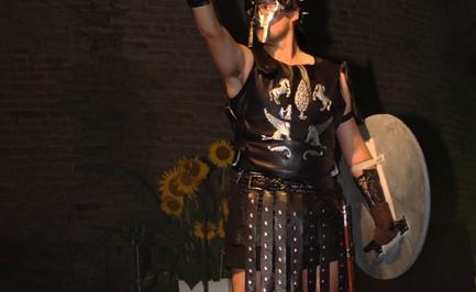 Cosplay dal film Il Gladiatore: Massimo Decimo Meridio di Annamaria Quaresima