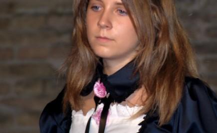 Cosplay da Rozen Maiden: Suigintou di Monia Bolletta