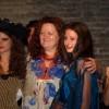 Antonella Fava con le sue modelle