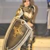 Cosplay dal gioco LineageII: umana in Dark Crystal heavy di Monia Bolletta