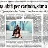 Articolo sul Messaggero per Annamaria Quaresima i suoi cosplay e i suoi costumi Winx