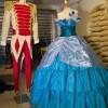 Costumi del film Winx in 3D per Bloom e Sky prima della consegna