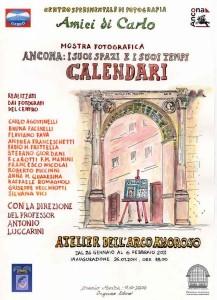 Locandina Calendari Amici di Carlo Ancona