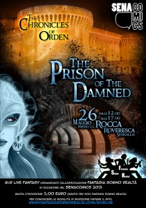 Locandina The Crhonicles of Orden - The Prison of the Damned