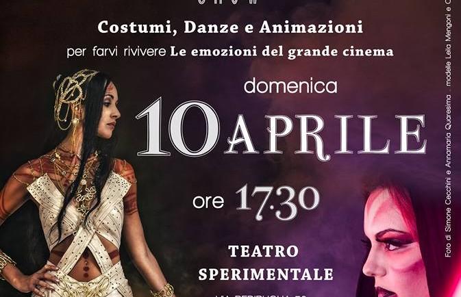 Cinemagic Show - Teatro Sperimentale Ancona 10 Aprile 2016