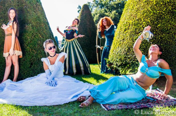 Disney Princess Photo Shooting