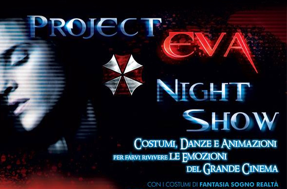 Project Eva Night Show