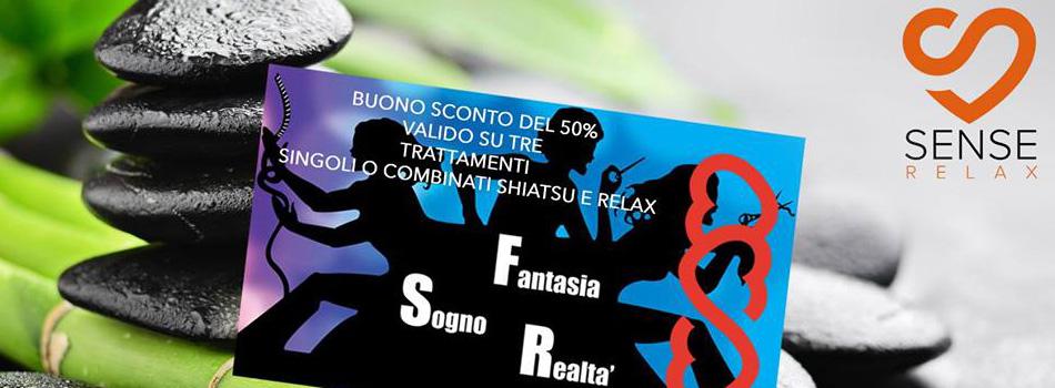 50% di sconto su trattamenti Shiatsu o Relax!!!!