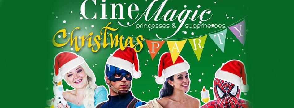 Party di Natale con le principesse e i Super eroi